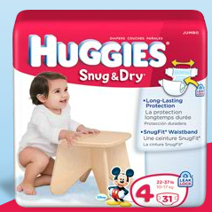 Huggies Diapers ONLY $2.99 Per Pack at Giant Food Store