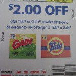 3 $2/1 Tide or Gain Coupons Giveaway