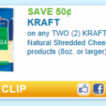 Kraft Cheese Printable = $2.00 Cheese at Weis