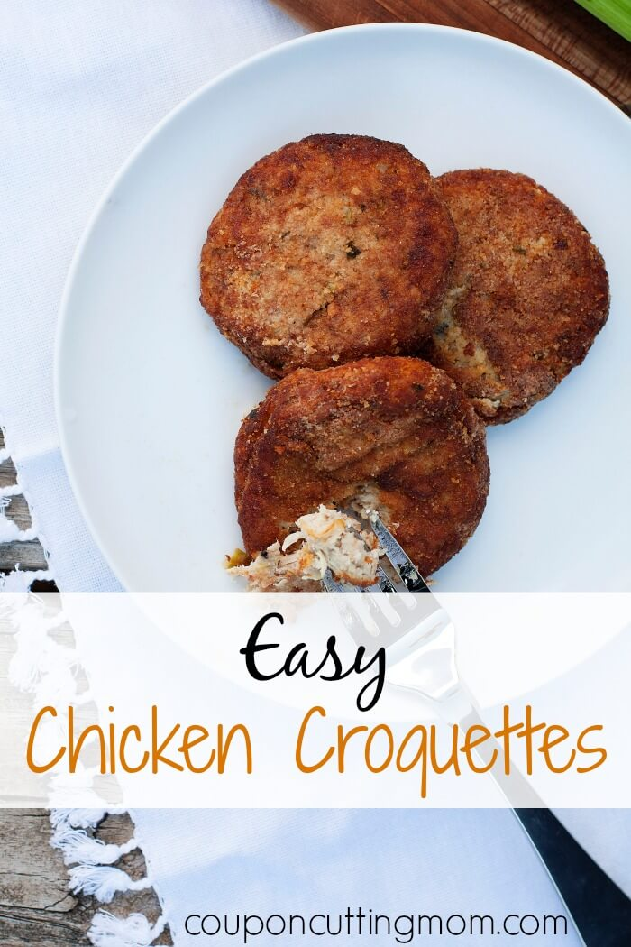 easy chicken croquettes recipe perfect for freezer meals