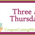 Three a Thursday: 3/29 Companies To Contact For Coupons