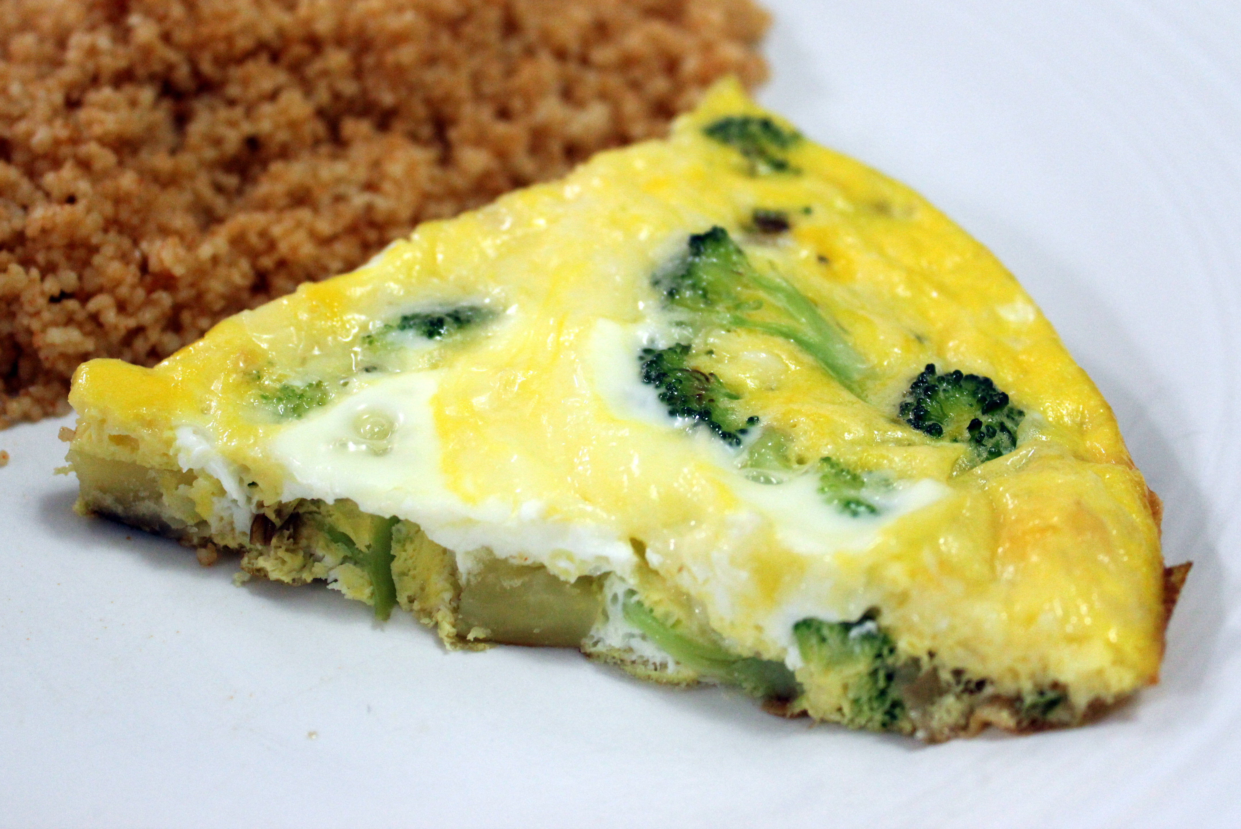 Ultimate Blog Swap: Broccoli and Potato Frittata Recipe ...