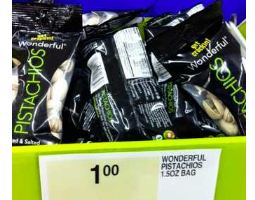 FREE Wonderful Pistachios at Staples