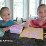 Frugal Family Fun: Homemade Puffy Paint (Day 8)