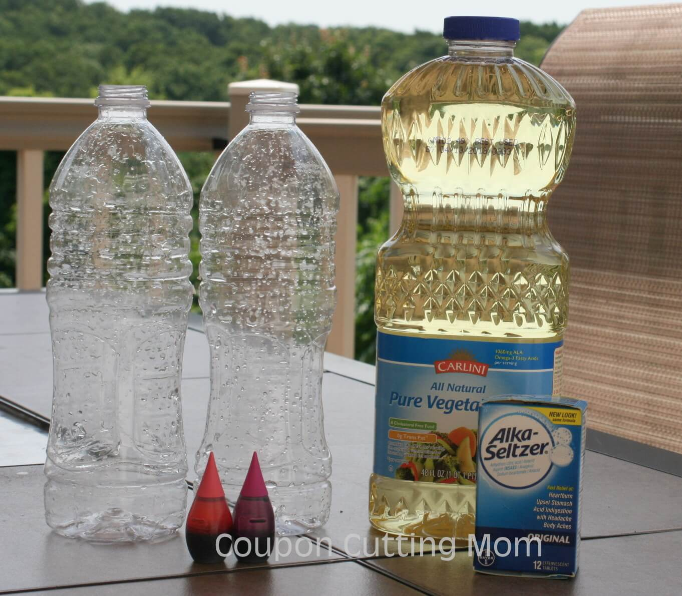 How To Make A Homemade Lava Lamps Ingredients
