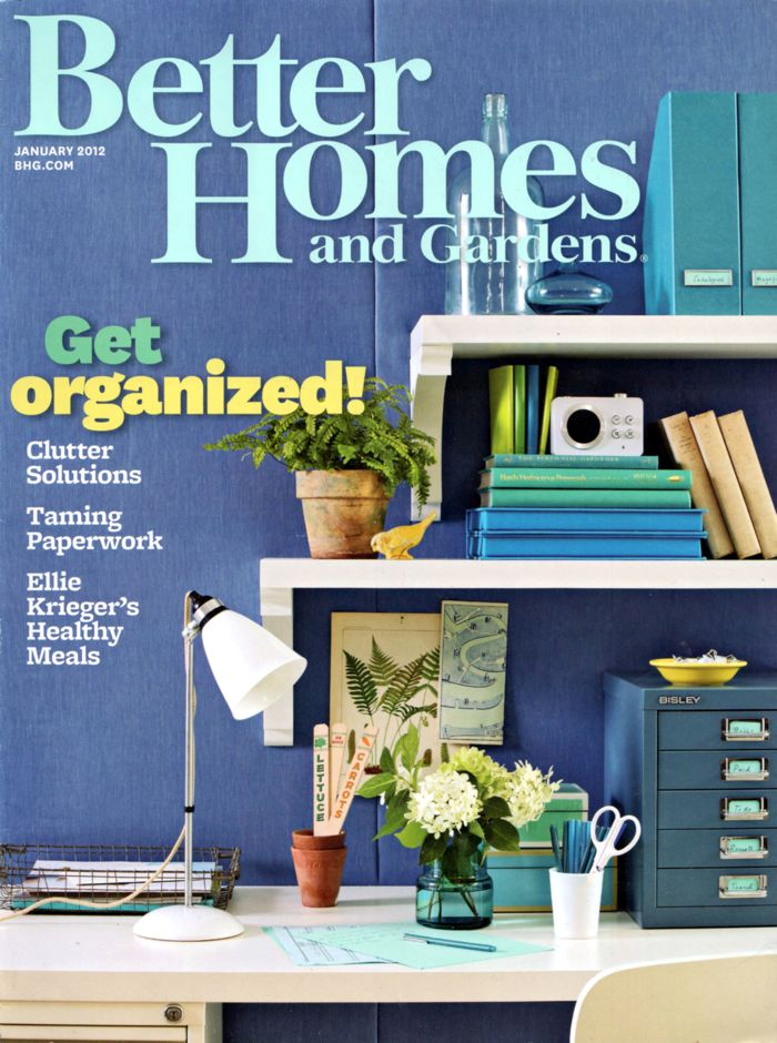 Free better homes and gardens 1 year magazine Better house and home