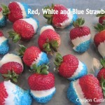 Frugal Family Fun: Red, White and Blue Strawberries (Day 14)