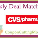 CVS Matchup 9/8 – 9/14/13