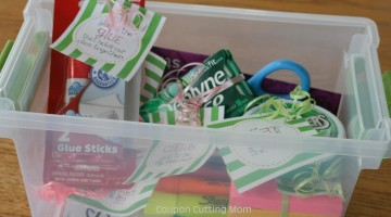 Back To School Teacher Gift Basket + FREE Printables