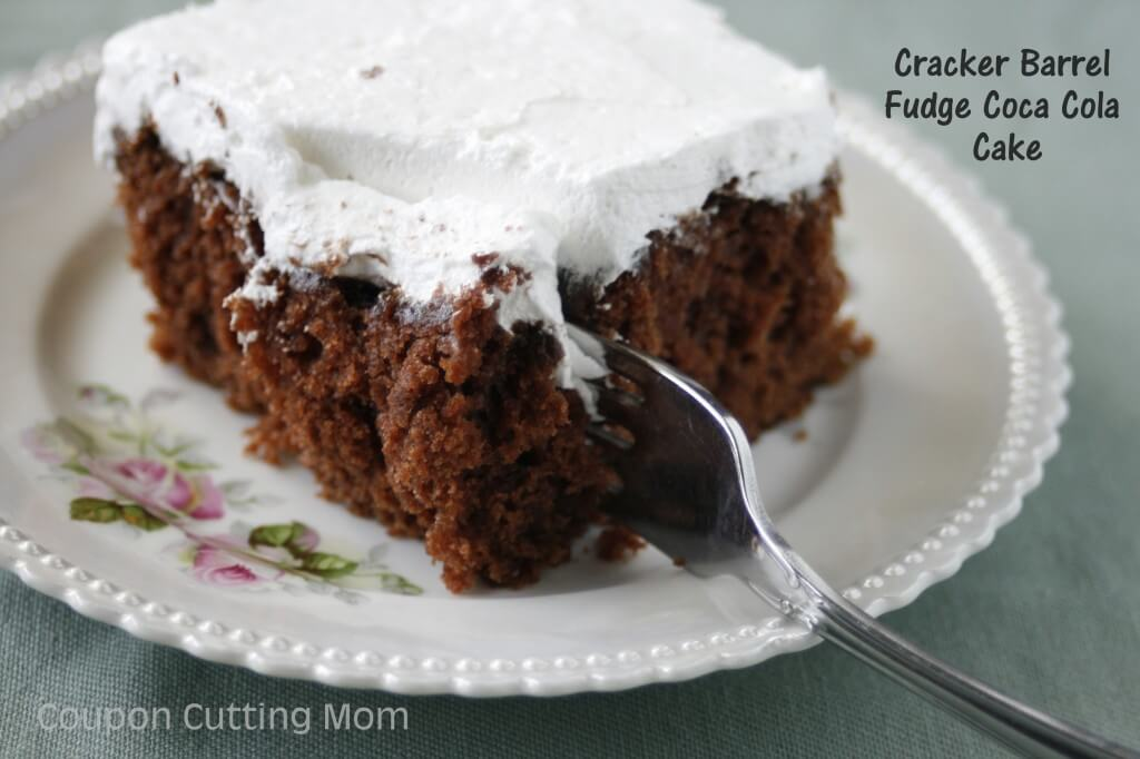 cracker barrel fudge coca cola cake