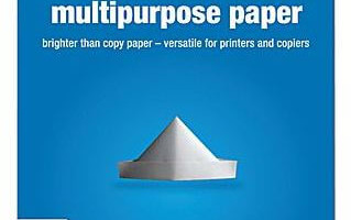 5 Reams of  Staples Multipurpose Paper ONLY $6.00 (Reg. Price $30.00)
