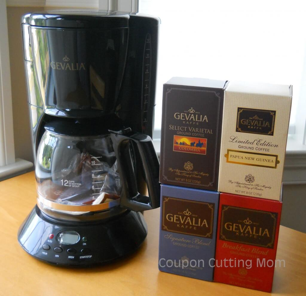 Gevalia Coffee Maker Deal : Gevalia Coffeemaker + 4 Boxes of Gourmet Coffee Only USD 9.99 Shipped