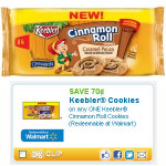 Keebler Cinnamon Roll Printable + Weis Deal