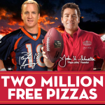 Win FREE Pizza From Papa John's