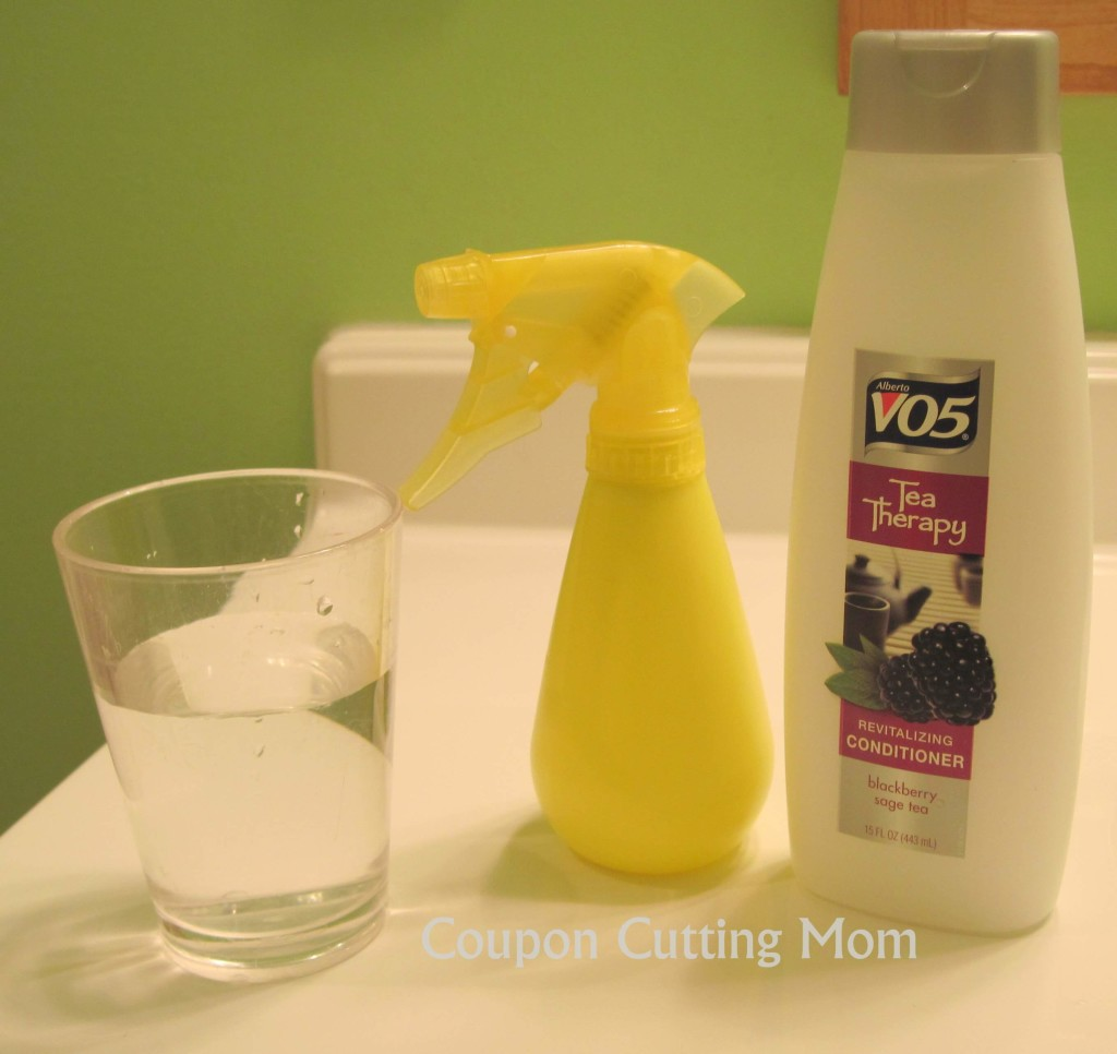 How To Make Your Own Detangler