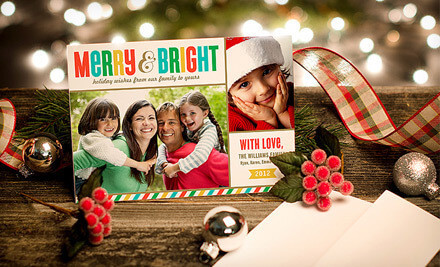 Personalized Holiday Photo Cards As Low As $0.23 Each