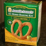 Auntie Anne's Cinnamon Apple At-Home Pretzel Kit Review and Giveaway