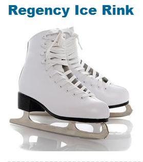 Regency Ice Rink Admission and Skate Rental 50% Off Regular Price