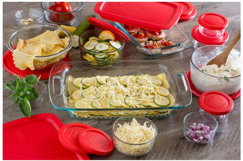 Pyrex Easy Grab 28-Piece Bake and Store Set ONLY $33.33 - Regular Price $52.00