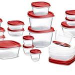 Rubbermaid Food Storage Container 34 Piece Set 72% Off Regular Price