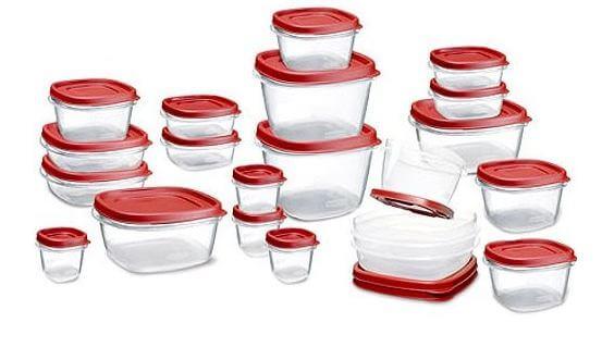 Rubbermaid 24 Piece Food Storage Set 50% Off Regular Price