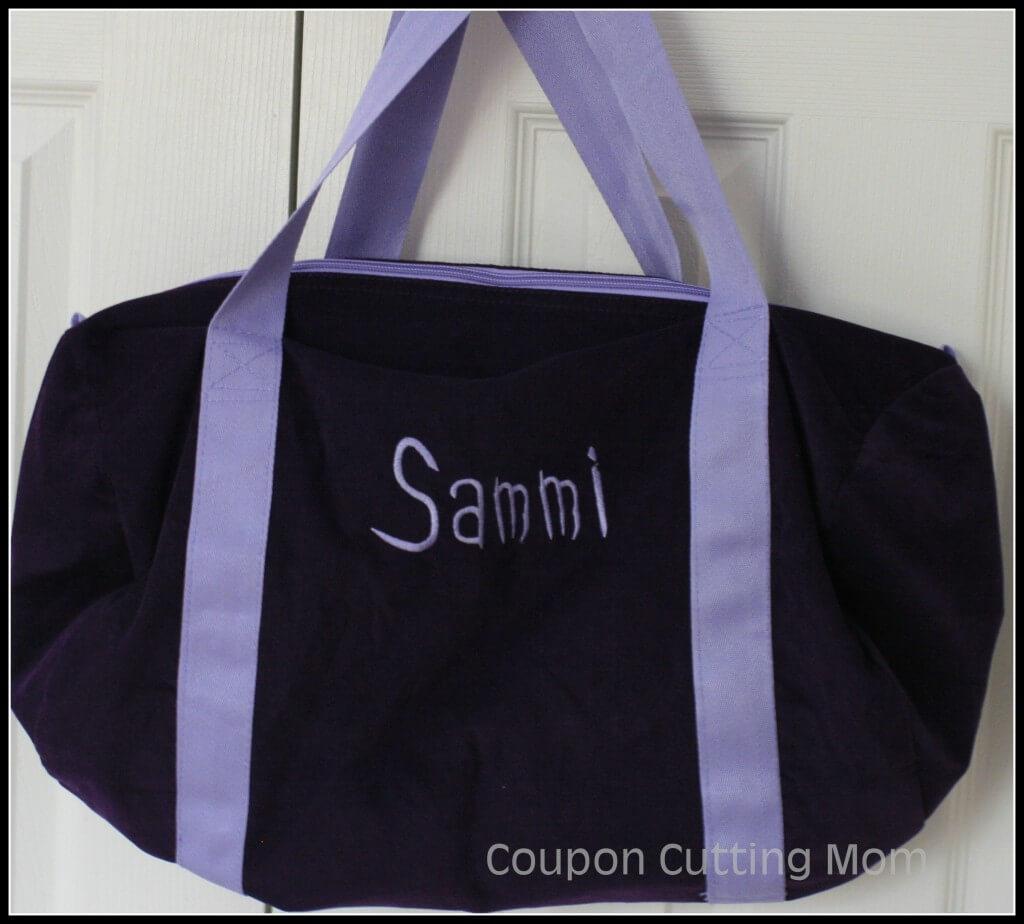 0e406527436 Posy Lane  Personalized Duffel Bag Review
