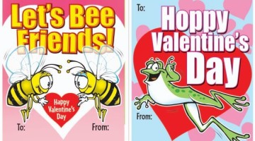 Free Printable Isaac's Valentine Cards With FREE Kid's Meal Coupons
