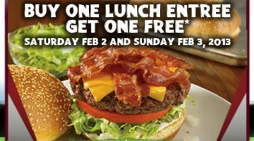 Outback Steakhouse BOGO FREE Lunch Printable Coupon (2/2 & 2/3)
