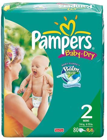 Pampers Diapers ONLY $2.00 Per Pack at Rite Aid