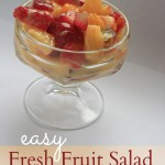 Easy Fresh Fruit Salad Recipe