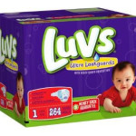 Amazon: 264 Luvs Ultra Leakguard Diapers Size 1 Only $0.10 per Diaper Shipped