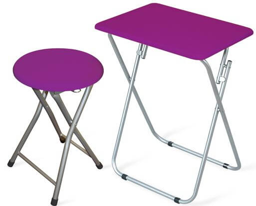 Multipurpose Folding Table With Matching Stool Only 29 99