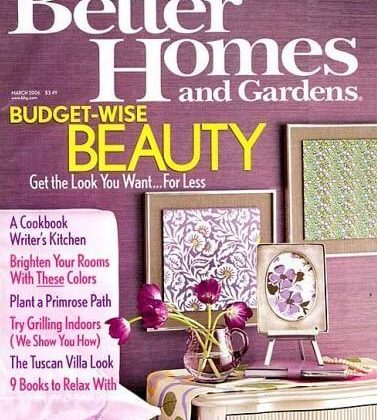 Better Homes and Gardens 1-Year Magazine Subscription – 90% off Regular Price