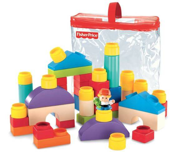 fisher price little people block set