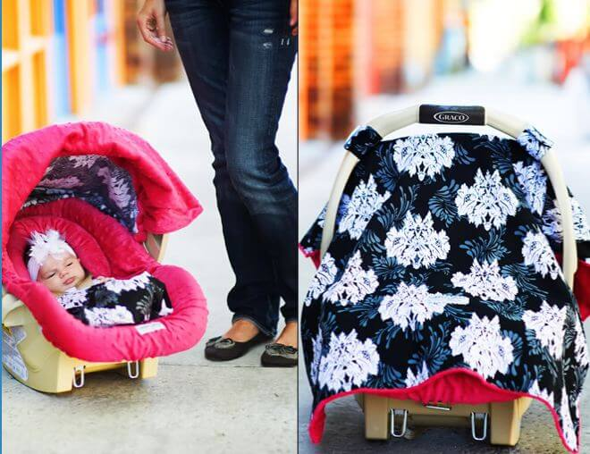 free carseat canopy & Baby Freebies Round-Up: FREE Magazine Nursing Cover Baby Carrier