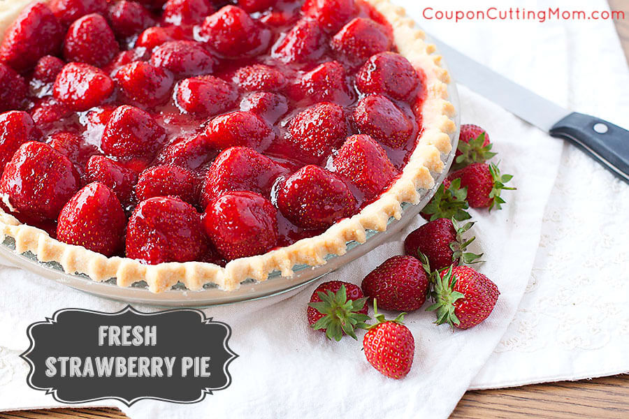 Easy Strawberry Pie Recipe
