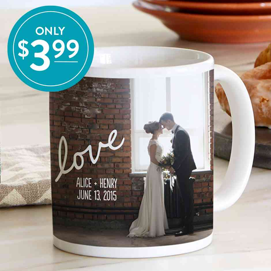 Snapfish Flash Sale - Custom Photo Mugs ONLY $3.99