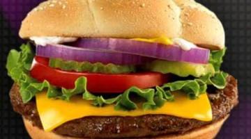 My Coke Rewards: FREE McDonald's Quarter Pounder Burger Only 25 Points (6/19 only)