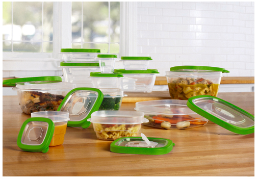 24 Piece Bpa Free Plastic Storage Container Set Only 14