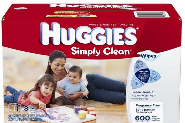 Amazon: Huggies Simply Clean Wipes 648 Count Only $8.28 (Reg. $11.04)