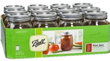 Ball Pint Canning Jars 12-Pack ONLY $2.49 (Reg. Price $8.69)