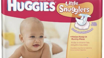 *HOT* Huggies Diapers ONLY $1.07 per Pack