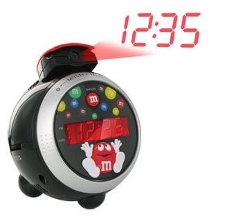 M Amp M S Led Projection Alarm Clock And Radio Only 17 85