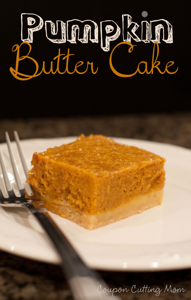 pumpkin butter cake