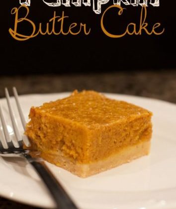 Pumpkin Butter Cake Recipe