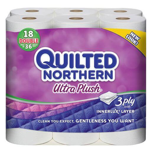 Quilted Northern Ultra Plush Bath Tissue Only Per Double Roll
