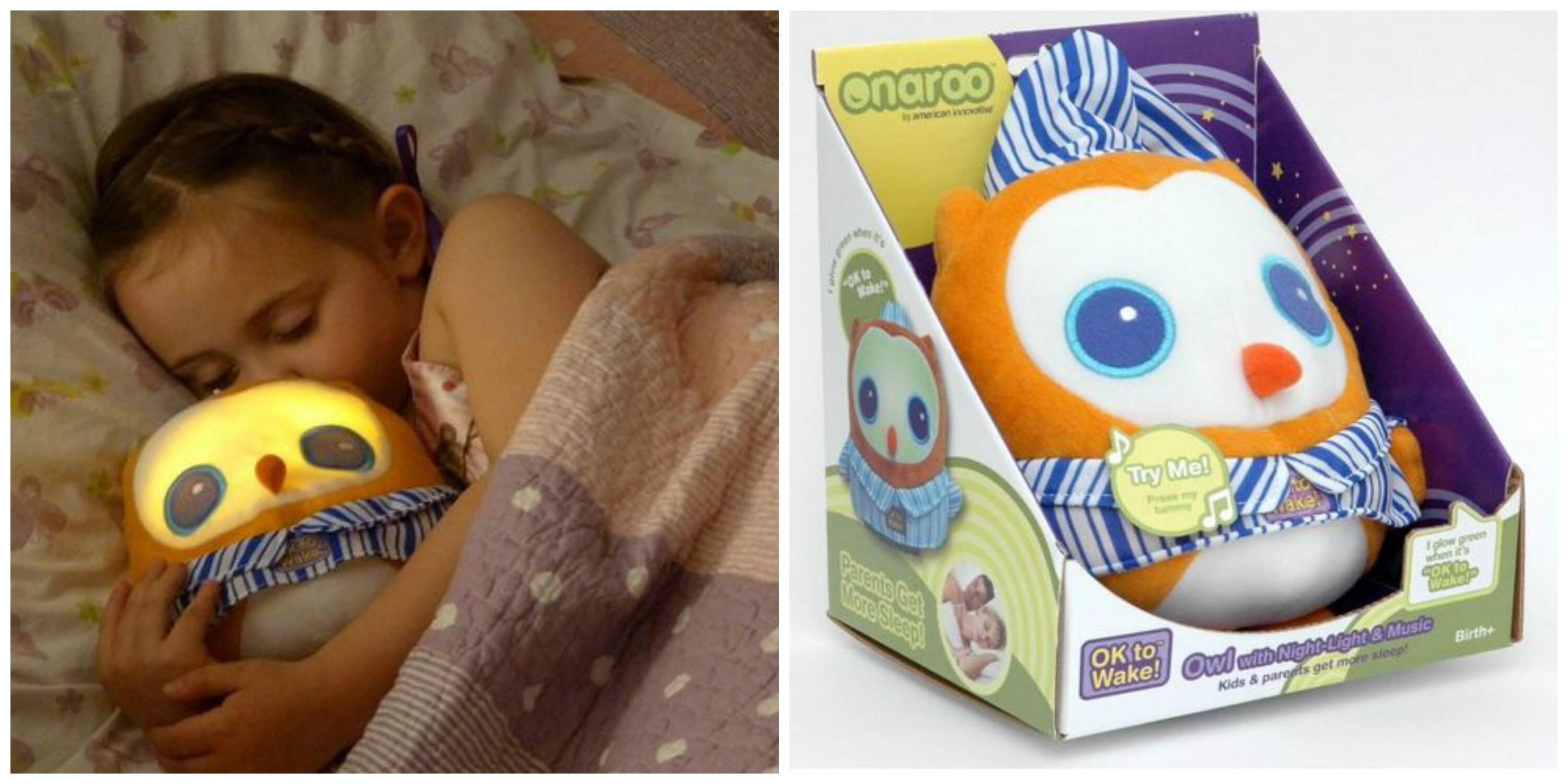 Toddler Night Light Ok To Wake: OK To Wake! Owl With Night-Light And Music Only $19.96