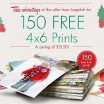 Snapfish: 150 FREE Photo Prints (New Customers)