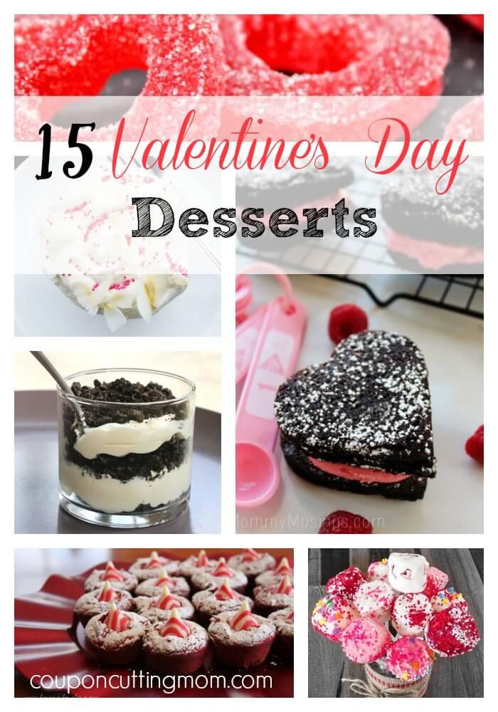 15 delicious valentine 39 s day desserts round up for Valentine s day desserts for a crowd