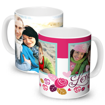 Valentine's Day Custom Photo Mug